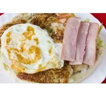 ESPECIAL DE LOMO. Lomo, Huevo  Plancha y Bacon