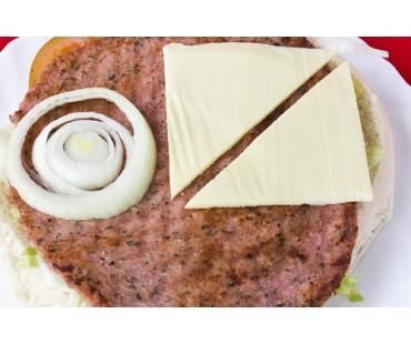 HAMBURGUESA ESPECIAL. Carne y Queso.